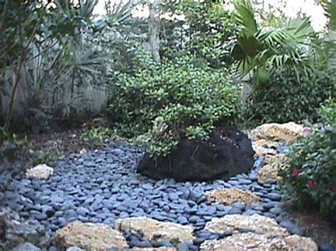 river rock flower bed designs home decorating ideas