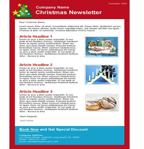 Creative HTML Email Newsletter Templates For Web Designers | Webgranth