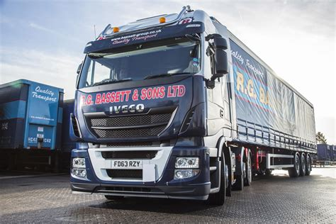 New Iveco Trucks And New Livery For Rg Bassett & Sons