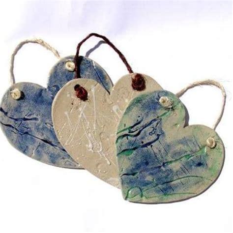 ceramic heart plaques charlotte hupfield ceramics