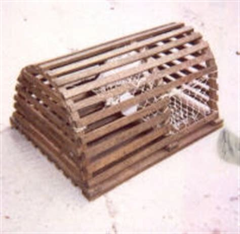 Decorative Lobster Traps Small by Wedding Lobster Traps For Cards
