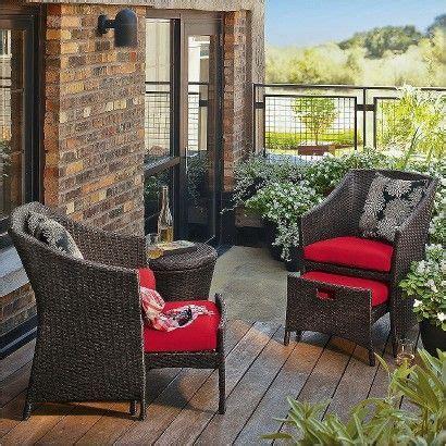 Porch Set by Loft 5 Wicker Patio Conversation Furniture Set