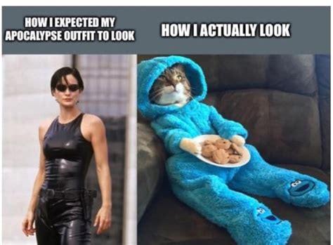 apocalypse outfits expectation  reality barnorama