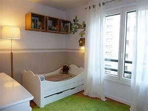 Chambre Garcon 2 Ans : am nager une chambre pour 2 enfants elle d coration ~ Teatrodelosmanantiales.com Idées de Décoration