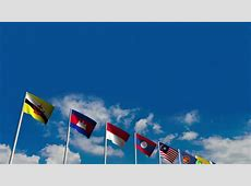 National Flags Of Southeast Asia Countries ASEAN