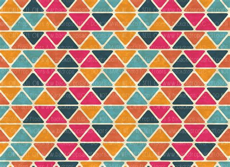 geometric  horizontal design geometric