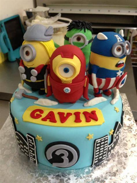 avengers minion cake sugarnomics cake studio guam