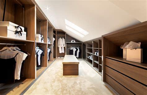 loft modern walk  wardrobe cinnamon bespoke furniture