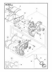 Husqvarna T540 Xp Crankcase Parts