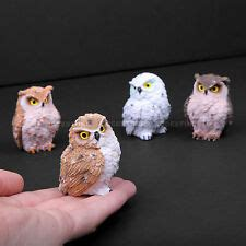 Beautiful Bird Owl Figurines Collectibles by Owl Figurines Ebay