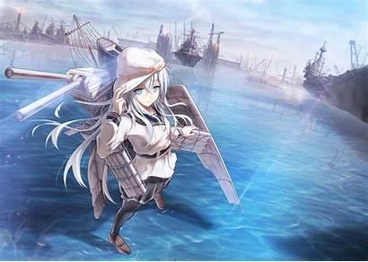 Kancolle Hibiki Kantai Anime Weapon Heavy Water