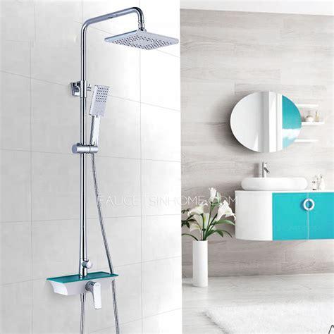 designer square shaped shower cheap shower fixtures