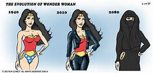 The Evolution of Wonder Woman - C-Section Comics