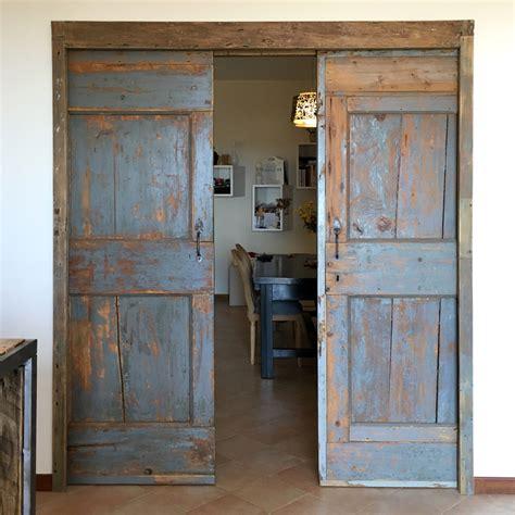 foto porte foto scorrevoli con porte antiche di officina 5103 di