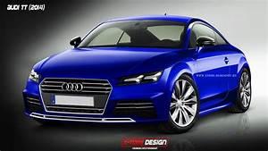 Nouvelle Audi Tt 2015 : 2015 audi tt rendering autoevolution ~ Melissatoandfro.com Idées de Décoration