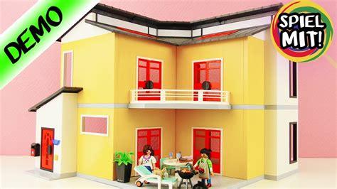 Modernes Haus Playmobil by Playmobil Modernes Wohnhaus 9266 Auspacke Aufbauen