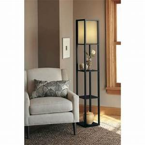 saturday night cas and floors on pinterest With thresholdtm floor shelf lamp with ivory shade