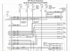 I Need A Radio  Speaker Wiring Diagram For A 2005 Mazda Mpv Lx