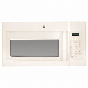 Ge 1 6 Cu  Ft  Over The Range Microwave In Bisque