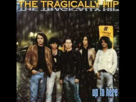 the tragically hip new orleans is sinking youtube