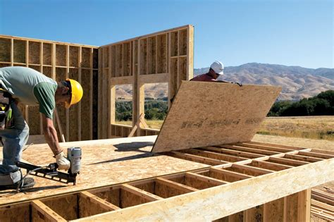 how to install osb subfloor wood framed floors beyond code the importance of balancing design trends product choices and