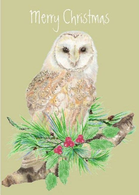 17 Best images about Christmas Owls on Pinterest   Muse