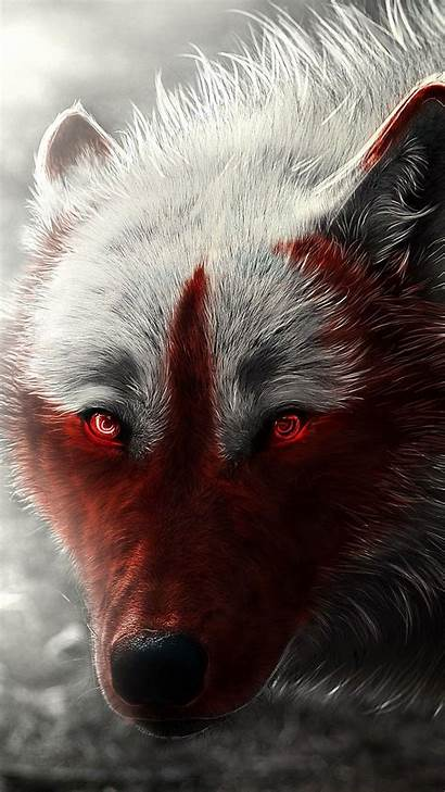 Wolf Scary Wallpapers Background Iphone Cool 1080