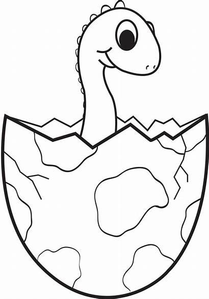 Dinosaur Egg Coloring Pages Clip Dinosaurs Clipartpanda