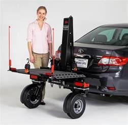 bruno chariot platform lift with wheels model asl 700