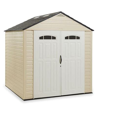 rubbermaid roughneck 7x7 storage shed 17 best images about garden shed options on