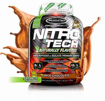 Nitro Tech Flavored Naturally Muscletech Protein 30g