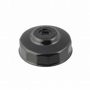 Steelman 06139 Oil Filter Cap Wrench 14 Flute X 74mm Housing Removal Tool
