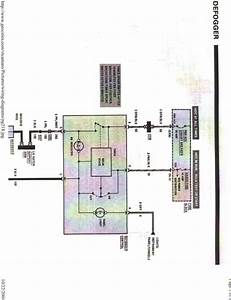 Wiring Diagram For Rear Defrost Button