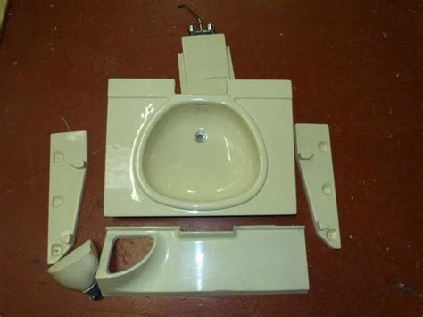 Caravan Motorhome Boat Conversion Plastic Bathroom Folding