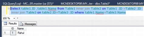 joining    tables  sql server