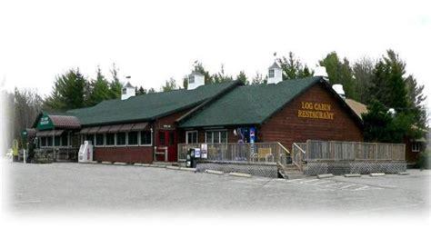 log cabin restaurant the log cabin restaurant bar harbor menu prices