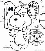Coloring Charlie Halloween Brown Peanuts Printable Getcolorings Getdrawings sketch template