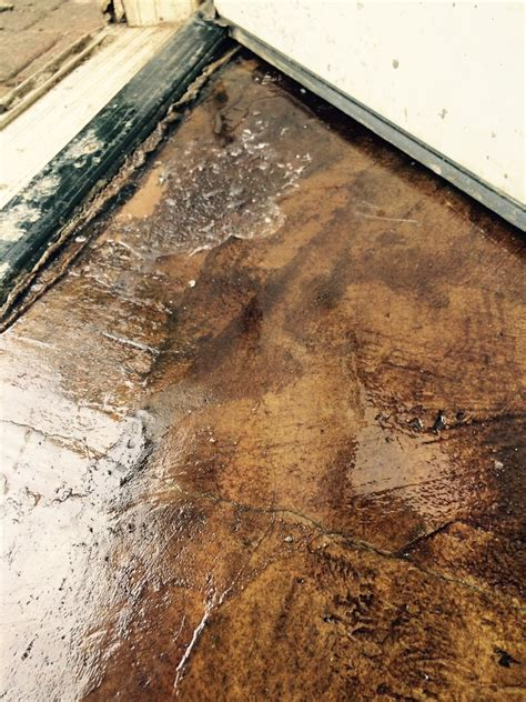 puddles  sealant  stained concrete yelp