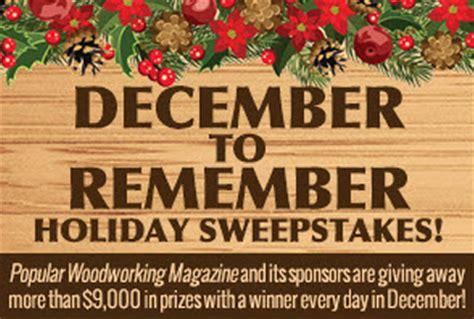 december  remember sweepstakes winners popular