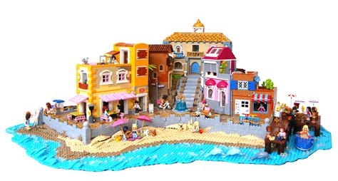 lego friends on vacation at the the brothers brick