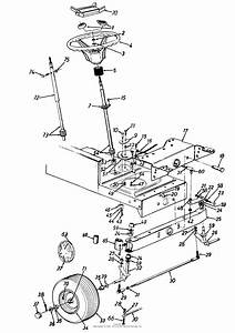 Mtd 134q694g401  1994  Parts Diagram For Steering Assembly
