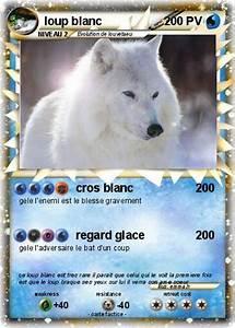 Bébé Loup Blanc : pok mon loup blanc 37 37 cros blanc ma carte pok mon ~ Farleysfitness.com Idées de Décoration