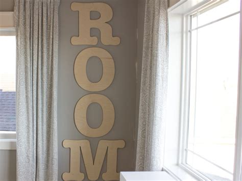 large wood letter decorate  large wall letters craft cuts