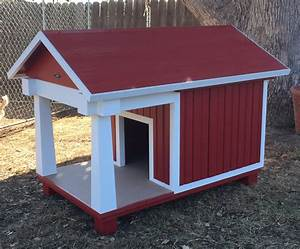 photos bow wow dog houses With dog house with deck