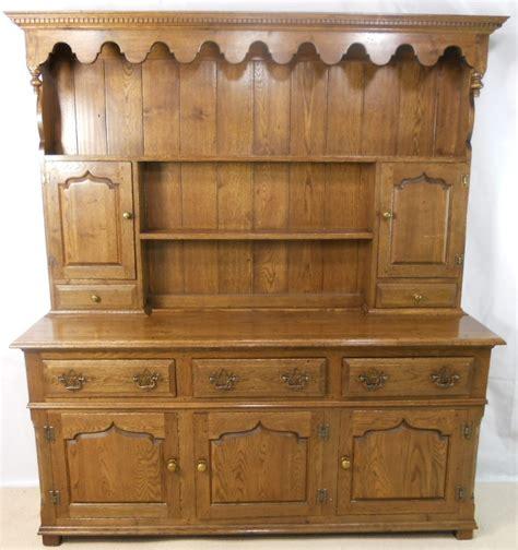 large antique style oak dresser sold