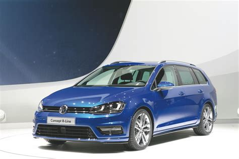 2018 Volkswagen Golf Estate Concept R Line News And