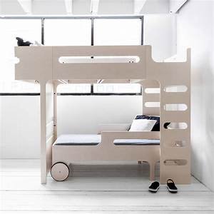 Lit Mezzanine Double : lit mezzanine double chelle funk bed beige c rus rafa kids ~ Premium-room.com Idées de Décoration