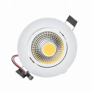 Spot à Led : buy 50pcs lot dimmable 3w 6w 9w cob led spot light led ceiling lamp recessed ~ Melissatoandfro.com Idées de Décoration