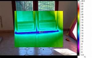 thermographie renovation passive With porte d entrée alu avec chauffage infrarouge salle de bain castorama