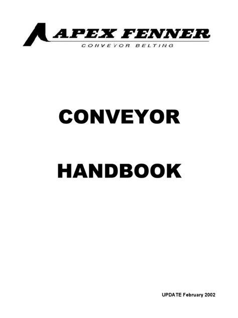 Belt Conveyor Design - Apex Fenner | Belt (Mechanical